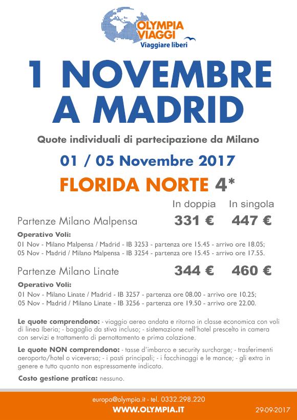 1° Novembre a Madrid