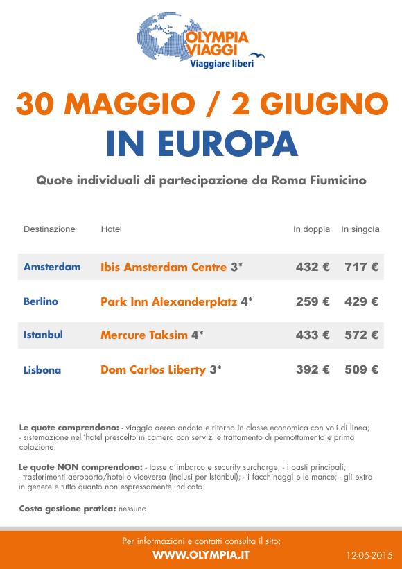 2 Giugno in Europa