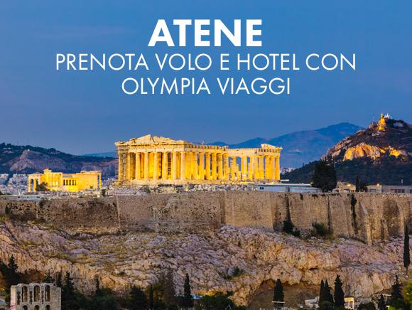 ATENE - Prenota Volo e Hotel con Olympia Viaggi!