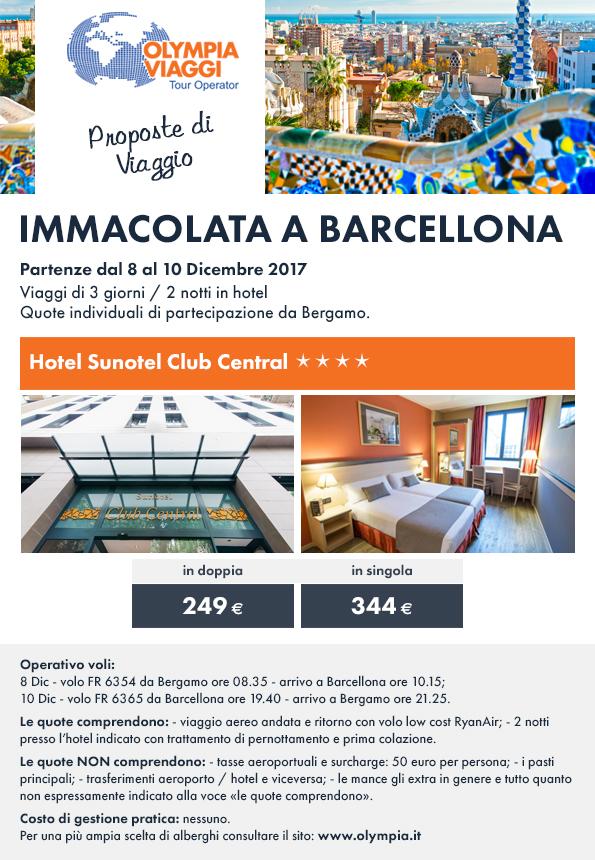 Immacolata a Barcellona