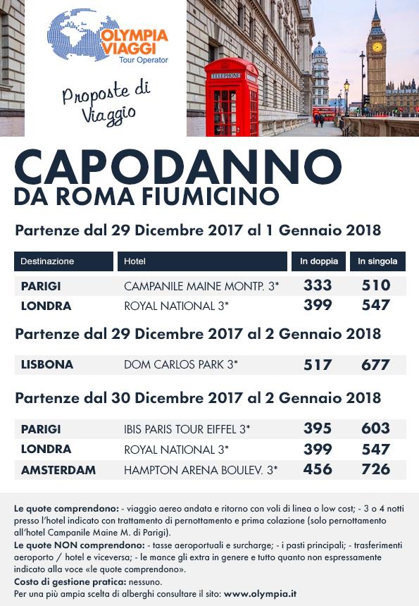 Capodanno da Roma Fiumicino
