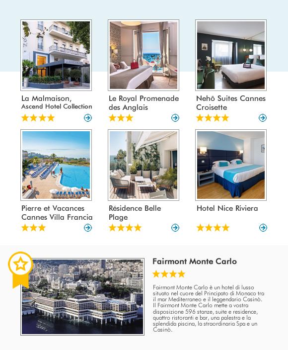 Scopri la Costa Azzurra con Olympia Viaggi e prenota i nostri migliori hotel!