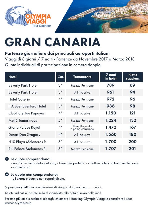 Speciale mare Gran Canaria