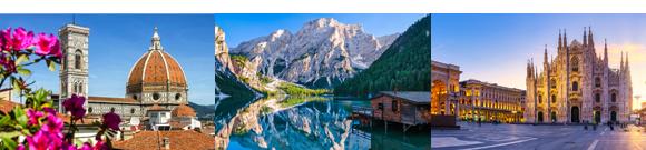 Scopri l'Italia con Olympia Viaggi, prenota subito!