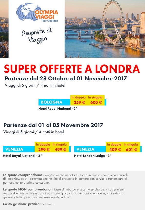 Proposte di Viaggio, Super Offerte a Londra