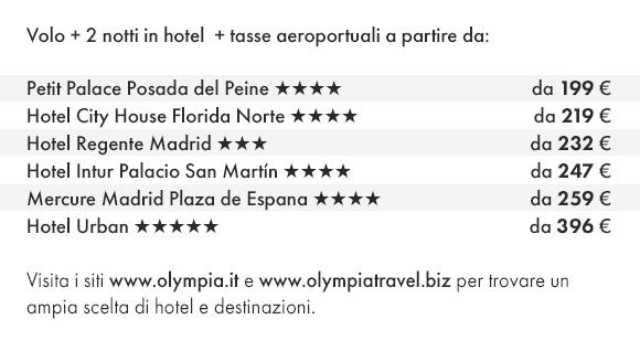 MADRID - Prenota Volo e Hotel con Olympia Viaggi!