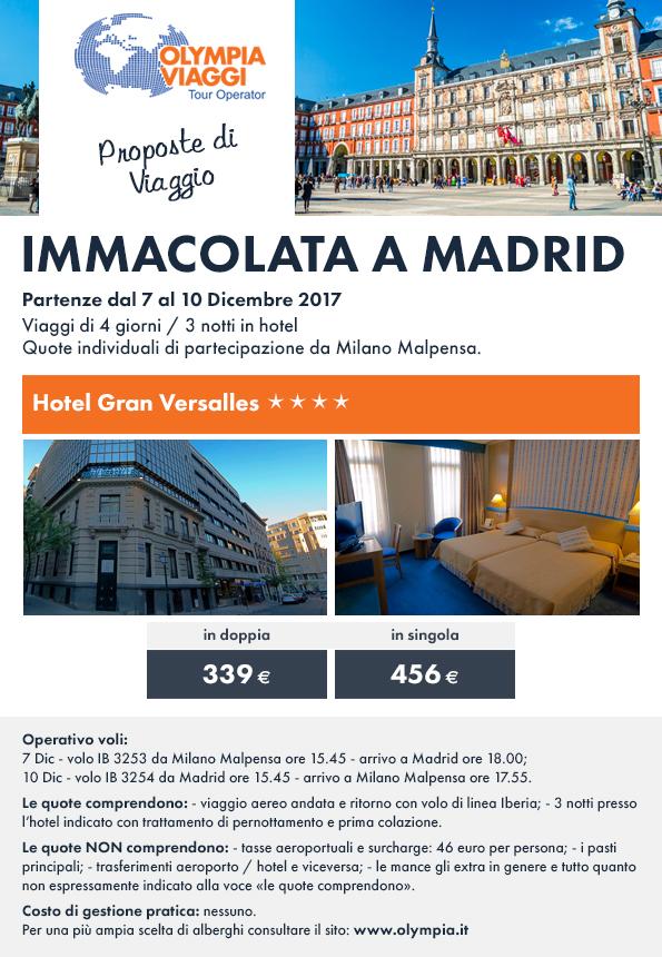 Immacolata a Madrid
