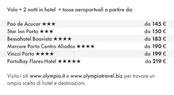 PORTO - Prenota Volo e Hotel con Olympia Viaggi!