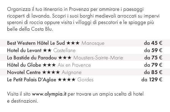 Ammira la Provenza con Olympia Viaggi e prenota le Tue prossime vacanze!