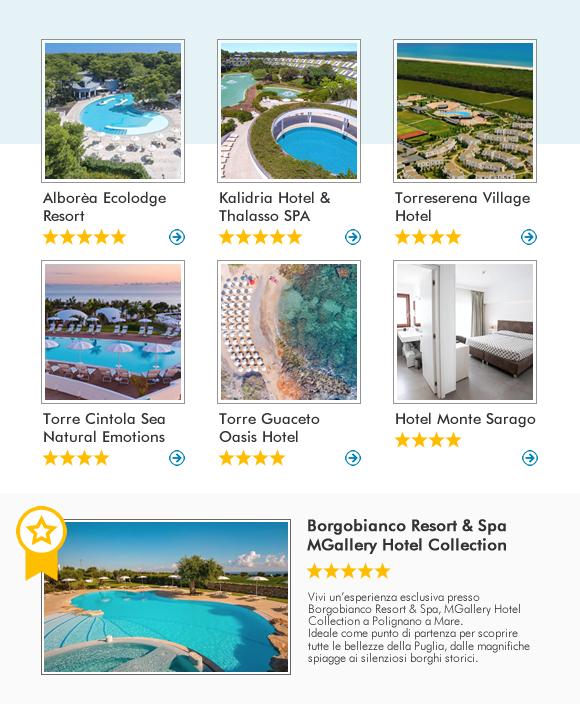 Scopri la Puglia con Olympia Viaggi e prenota i nostri migliori hotel!