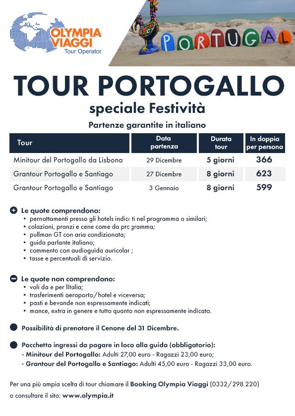 Tour Portogallo speciale Festività