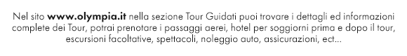 Tour Guidati partenze garantite in italiano